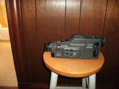 VINTAGE made in 1989 Canon Canovision 8 E80 8mm Video Camera Recorder, 8X works!