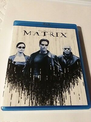 The Complete Matrix Trilogy (Blu-ray Disc,  3-Disc Set) like new