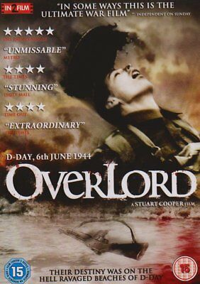 Overlord   DVD   (Brand New)  WW2  D Day