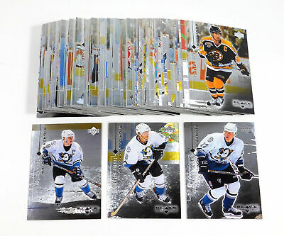 1998-99 Black Diamond Hockey Set without SPs (90) Nm/Mt Gretzky Roy Yzerman