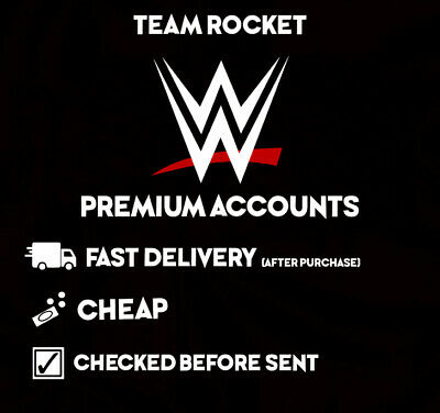 🔥WWE Network Premium Accounts🔥| 📦FAST DELIVERY | 💵CHEAP | $1.50 USD | NEW