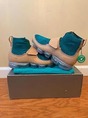 Nike Air VaporMax MN Marc Newson Vachetta Tan Rio Teal 923004-200 New Size  11.5 56989cfc21e5