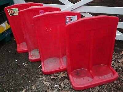 2 X Fire Extinguisher Stand Plastic Safety Point Powder Foam Co2 Water