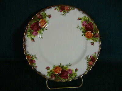 "Royal Albert Old Country Roses 7 1/8"" Dessert Plate(s) Made in England"
