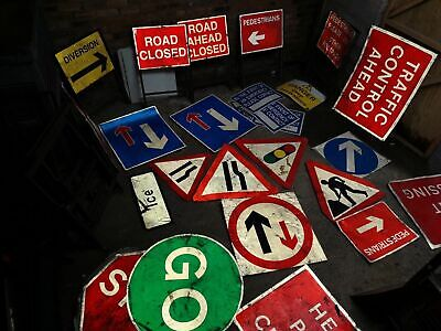 road signs pedestrian no entry traffic a frame metal highways stop go barrier