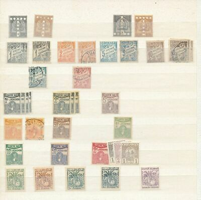 TUNISIA Early M&U Incl.Dues (Appx 60 Items) (KR 618