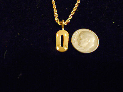 bling gold plated game fashion jewelry number 0 pendant charm hip hop necklace