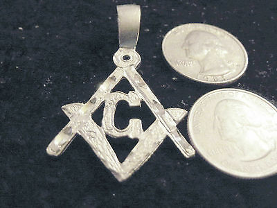 bling silver plated mason masonic TEMPLAR FASHION PENDANT charm necklace JEWELRY