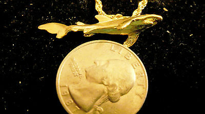 bling gold plated MYTH LEGEND shark BEACH pendant charm hip hop necklace JEWELRY