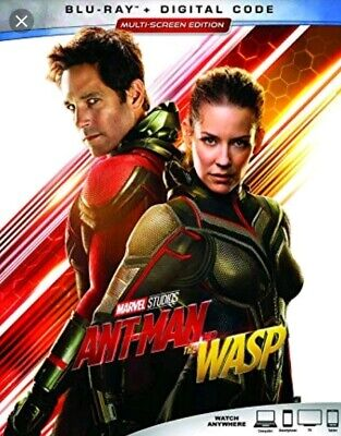 Ant Man And The Wasp Google play Digital Code HD Read Description Carefully