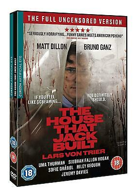 THE HOUSE THAT JACK BUILT (2018): Crime, Drama, Horror - NEW Rg2 DVD not US