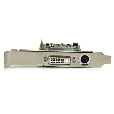 StarTech.com High-definition PCIe Capture Card - HDMI VGA DVI & Component -
