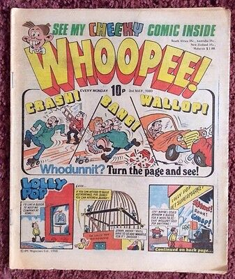 Whoopee Comic 3 May 1980.  Lovely Condition Vfn