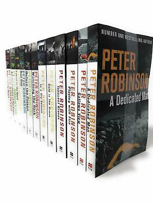 Peter Robinson Collection 12 Books COLLECTION Set INSPECTOR BANKS Series