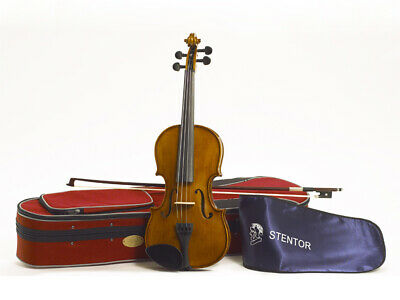 Violin 3/4 Size Stentor Student 2 With Case And Bow