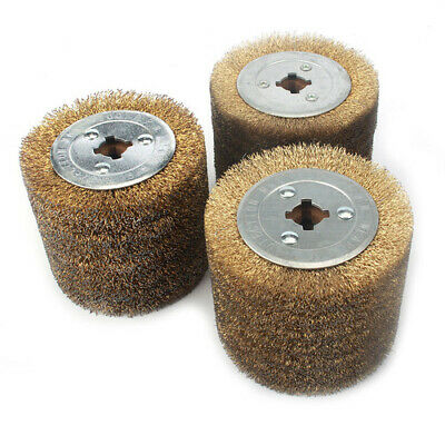 Copper Coated Steel Wire Drawing Polishing Wheel Metal Removal Rust For Polisher