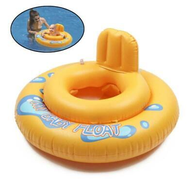 Inflatable Baby Kids Swimming Ring Safety Seat Float Raft Chair For Beach Pool