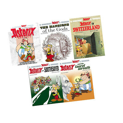 Asterix the Gaul Series 4 Collection 5 Books Set 16-20  Paperback By Rene Goscin