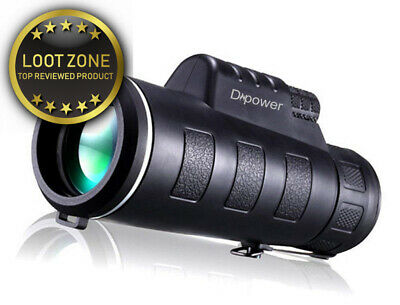 DFlamepower 10x42 HD Monocular with Full Optical Prism and Dual Focus...