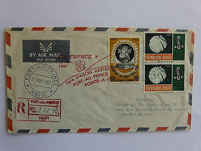 1st Binding Aerienne Port to the Prince - Point a Pitre 1967
