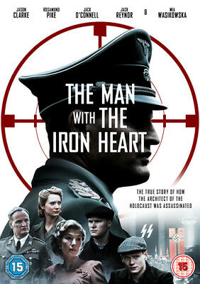 The Man With the Iron Heart DVD (2018) Rosamund Pike ***NEW***