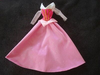 Pink Long Dress for Barbie
