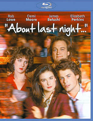 About Last Night... (Blu-Ray Disc) DVD1986 Rob Lowe Demi Moore NEW