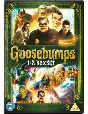 Goosebumps/Goosebumps 2 DVD (2019) Jack Black ***NEW***