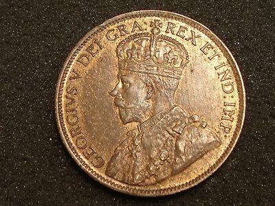 1919 Canada King George V Large Cent Choice AU