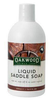 Oakwood Liquid Saddle Soap for Leather & Saddlery - 500ml