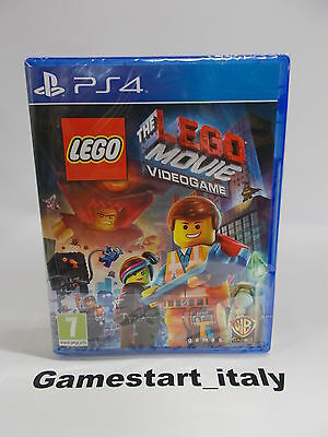 The Lego Movie Videogame - Sony Ps4 - Nuovo Sigillato New Versione Italiana