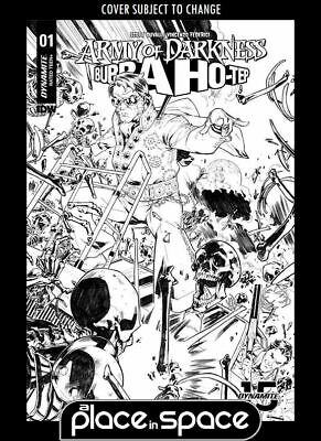 Army Of Darkness / Bubba Ho-Tep #1F (1:10) Gomez B&W Variant (Wk07)