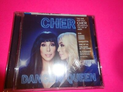 Cher 2018 Dancing Queen Physical Factory Sealed Album BRAND NEW CD IN Stock ABBA