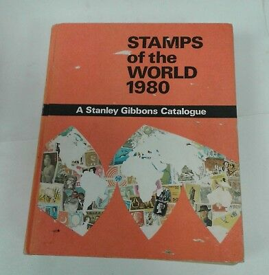 STANLEY GIBBONS Stamps Of The World 1980 Simplified Large Hardback Book (026)