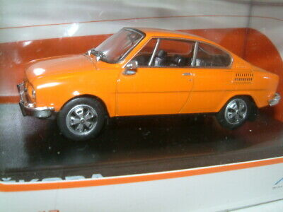 Skoda 110R Coupe 1980 Gray White ABREX 1:43 143ABS707EH