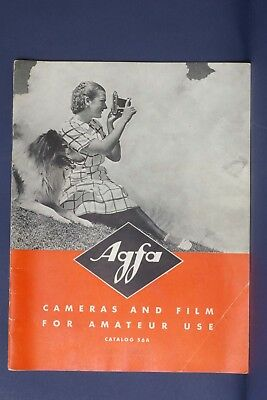 F66380~ Agfa Cameras & Film For Amateurs Catalog 56A – 1930's – 31 Pages