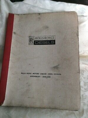 Rolls Royce Parts Catalogue For Model C6Nfl/series 600001Bwa