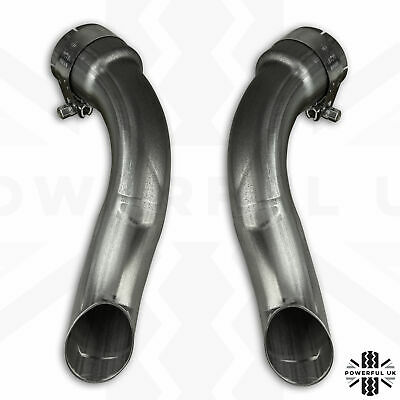 Exhaust conversion Pure/prestige>Dynamic tailpipe adapters for RangeRover Evoque