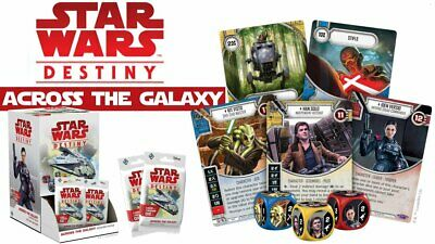 Star Wars Destiny Across the Galaxy 2x each card 320 Cards Collection Saga