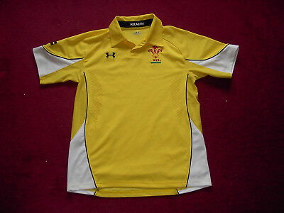 Under Armour Wales Away Rugby Union Shirt/top/jersey/youth large