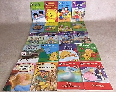 s58 LADYBIRD read it yourself Good Bundle of Children's story books job lot x16