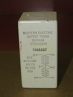Western Electric Type D178408 Output Transformer, Good