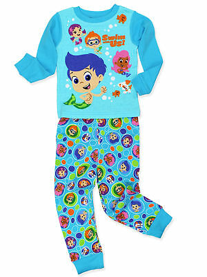 dc752ab78f71b Bubble Guppies Toddler Boy s Girl s 2 Piece Long Sleeve Pajamas Set  21NS024ELL