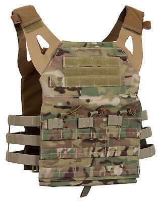 Tactical Light Weight Plate Carrier Vest Modular Multicam OCP Molle Rothco 55893