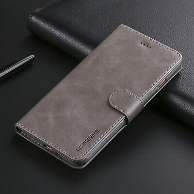 For iPhone 6s Plus 7 Plus 8 Case Retro Flip Magnetic Leather Wallet Stand Cover