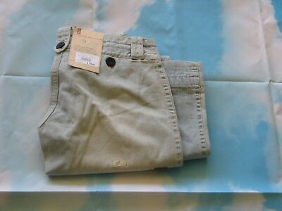 LEVI Jeans  Size 8 26 x 32 Stone Washed Blue  FLARED (some shop soil)