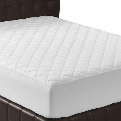 Twinxl Size Mattress Pad Extra Thick White Padded Deep Pocket Bed