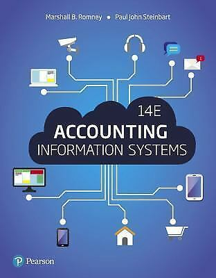 [EB00K] Accounting Information Systems 14e by Marshall B. Romney
