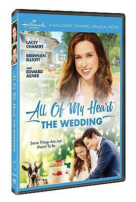 ALL OF MY HEART: THE WEDDING (2018): Hallmark TV Romance Movie - NEW Rg1 DVD