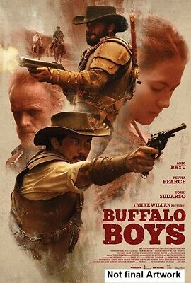 BUFFALO BOYS (2018): 19th Century Java, Western, Wild West Action - NEW Rg1 DVD